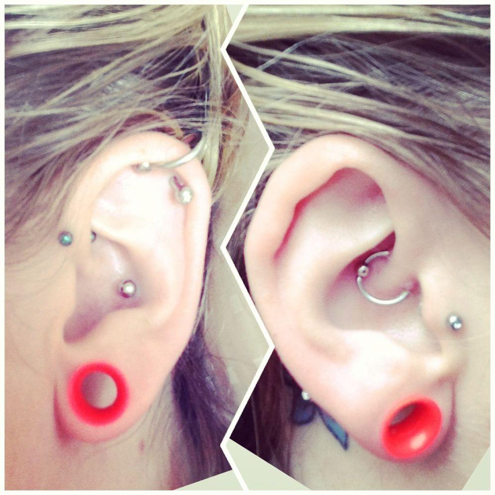 Ear lobe piercing names  All my ear piercings   Piercings  Pinterest  Ear piercings