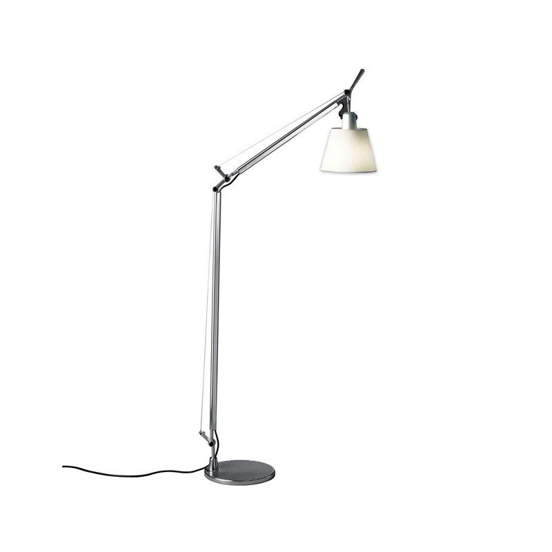 Artemide Tolomeo Reading Floor Lamp With Shade By Lumens Reading Lamp Floor Floor Lamp Lamp