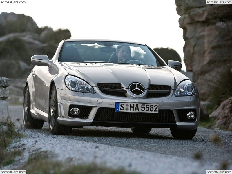 Mercedes Benz Slk 55 Amg 2008 With Images Mercedes Benz Slk