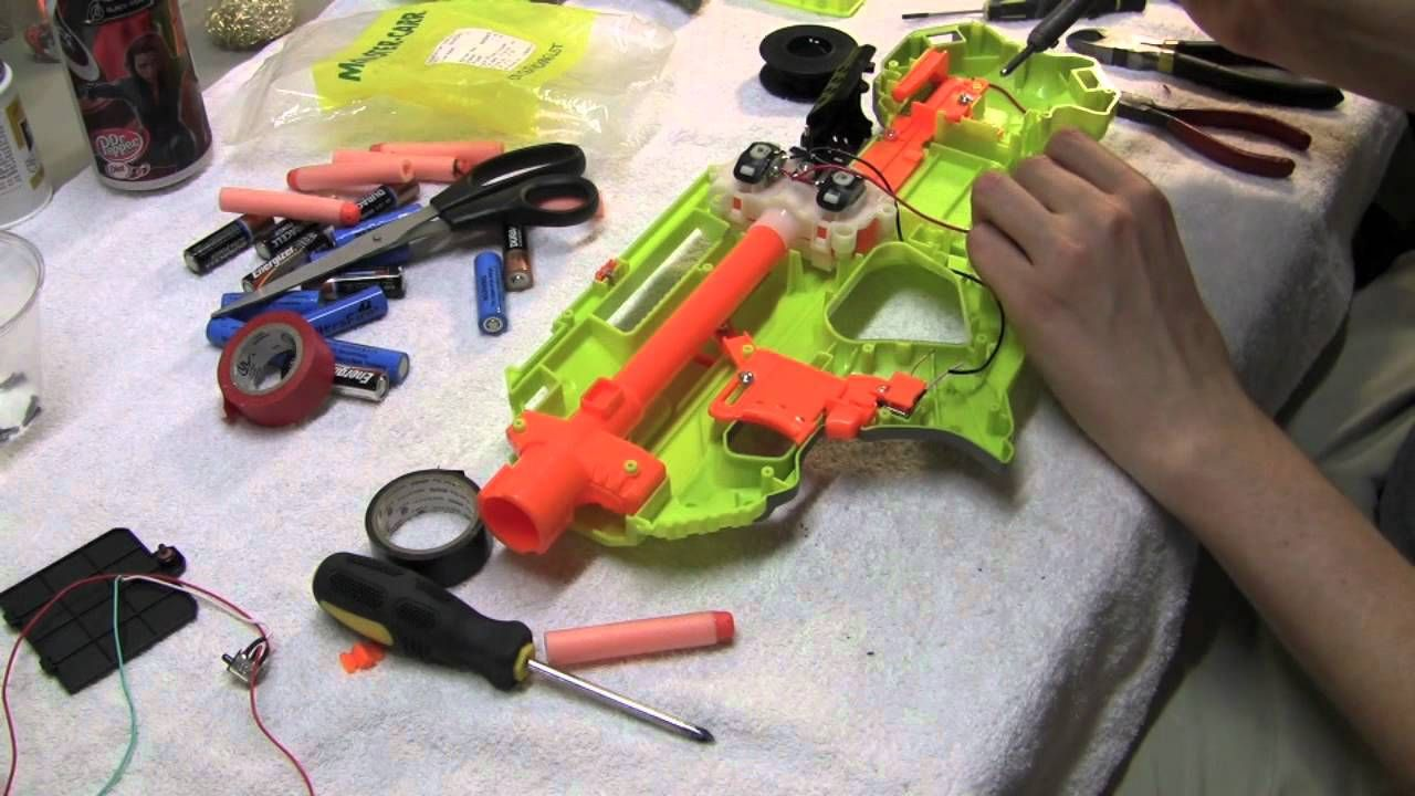 [TUTORIAL] How to Mod the Nerf Rayven - Modification Guide
