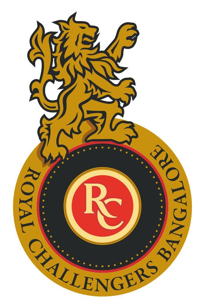 Royal Challengers Bangalore Early Logo Ipl Royal Challengers Bangalore Bangalore Cricket Logo