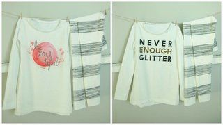 Rapport-Jersey Never enough glitter