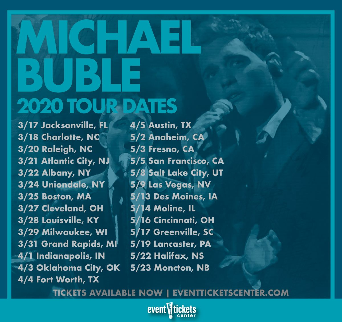 Michael Buble Christmas 2020 Michael Bublé Expands Tour Into 2020 | Michael buble, Michael