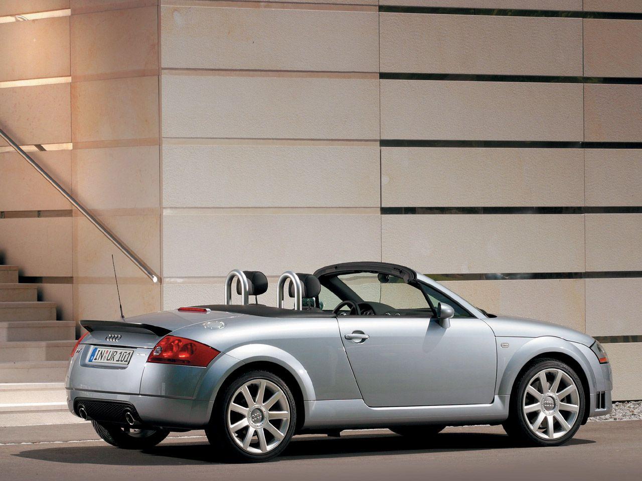 Audi tt roadster silver