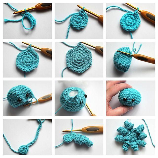 Ravelry: Mini Amigurumi Octopus pattern by Sarah Hearn ...