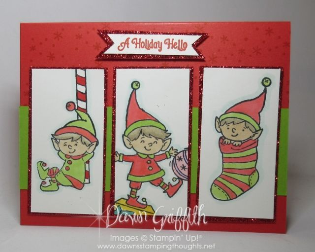 Two for Thursday ~ Card Sketch 91~ Walrus Peekaboo Front card - Dawn's Stamping Thoughts #cardsketches