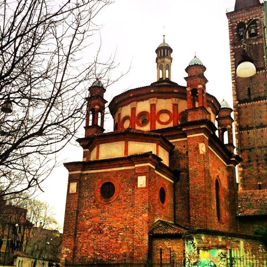 chiesa eustorgio , italy