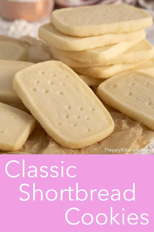 Shortbread Cookies Recipe - Preppy Kitchen
