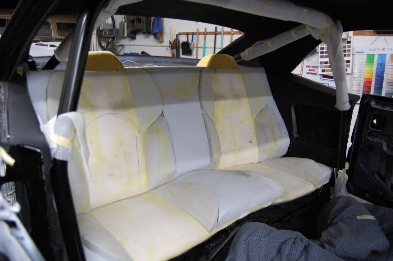 Custom Rear Seat In A First Gen Camaro Rear Seat Camaro Seating