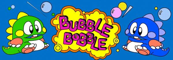 Bubble Bobble - Arcade Machine Marquees | Geek inside