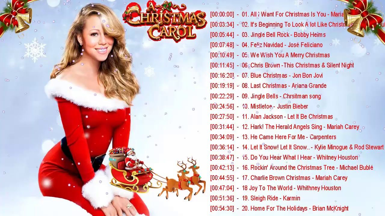 Musique Noel En Anglais Compilation Chansons De Noel Chanson De Noel
