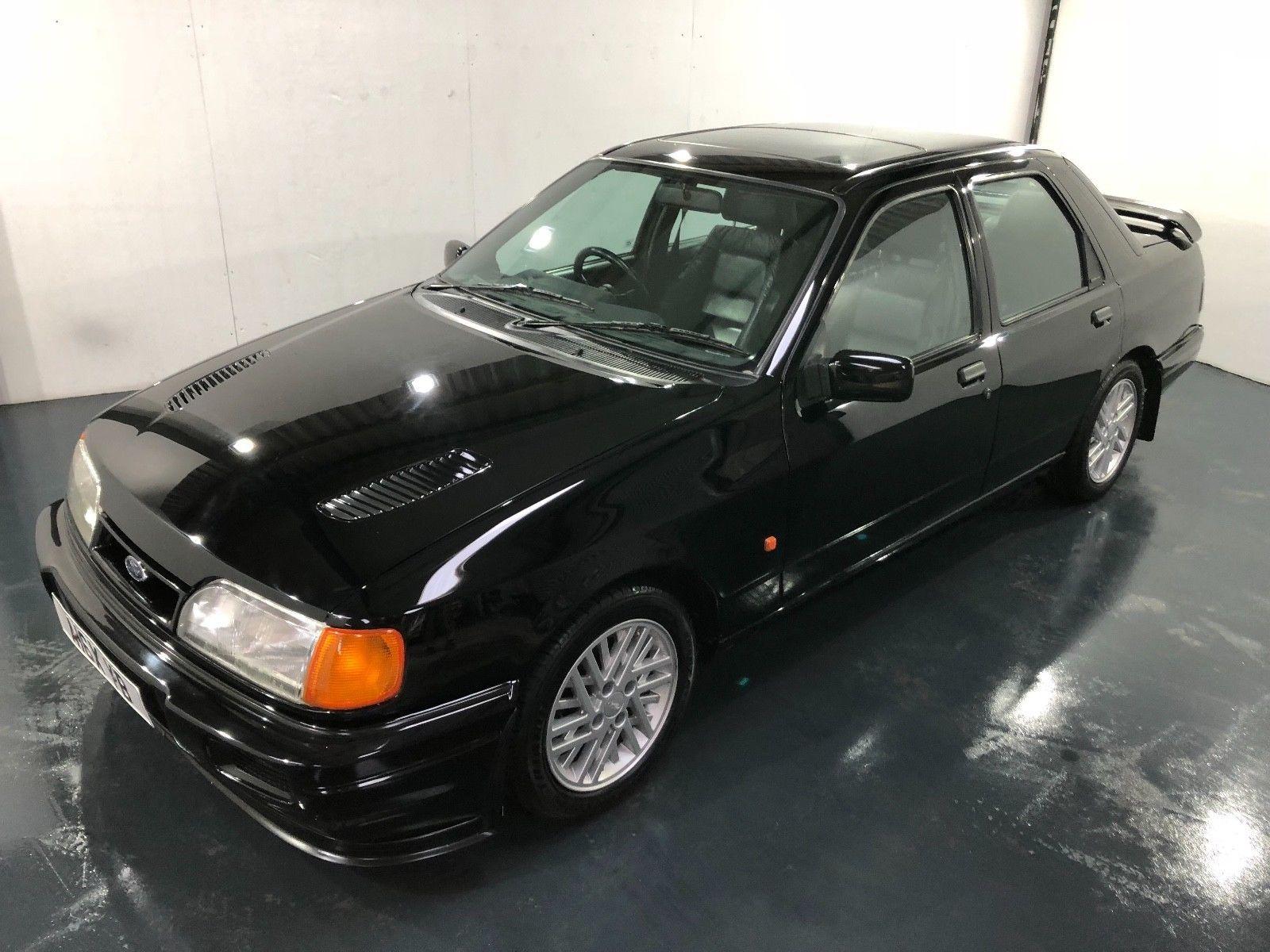 Ebay Classic Ford Sierra Cosworth 2wd Black Just Had Full Engine