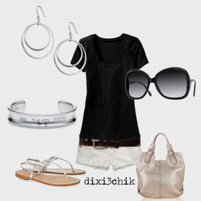 Black tee outfits are great to look stylish and stay casual. #stylish #great #look