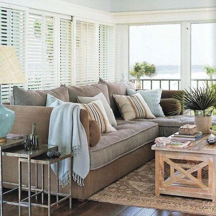 "Coastal Condo Decorating Ideas: Beachfront Decor On Instagram: ""Love The Relaxing Coastal"