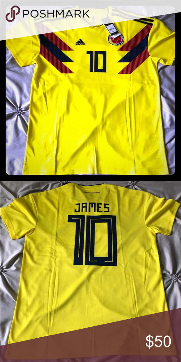 pretty nice d8d1e fc9ec Colombia Jersey Soccer James Rodriguez 10 XL Brand new Size ...