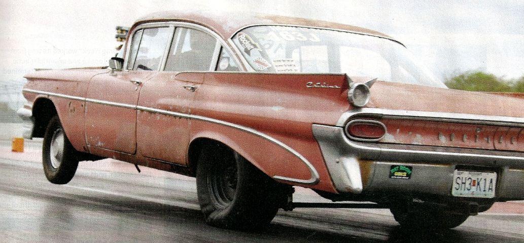 Brent McCoy\'s \'59 Pontiac used a nitrous\'ed 477 big block Chevy ...