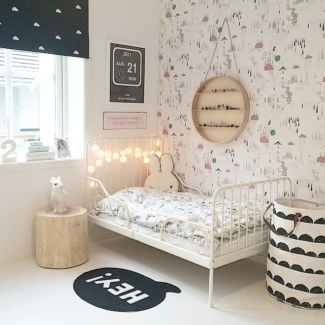 8 Kids\u0027 Rooms In Black And White Kids rooms, Room inspiration and Room
