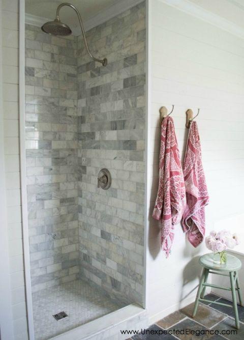 Diy Shower Renovation Using An Amazing System Shower Renovation Shower Remodel Bathroom Remodel Shower