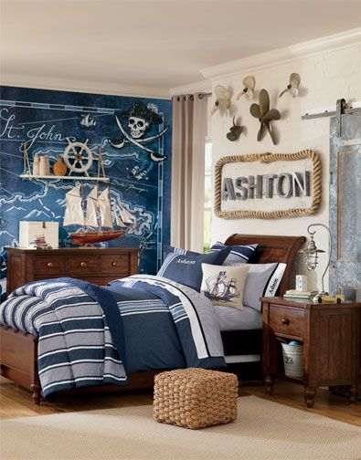 Pottery Barn Kids Pirate Room Rope Around The Name