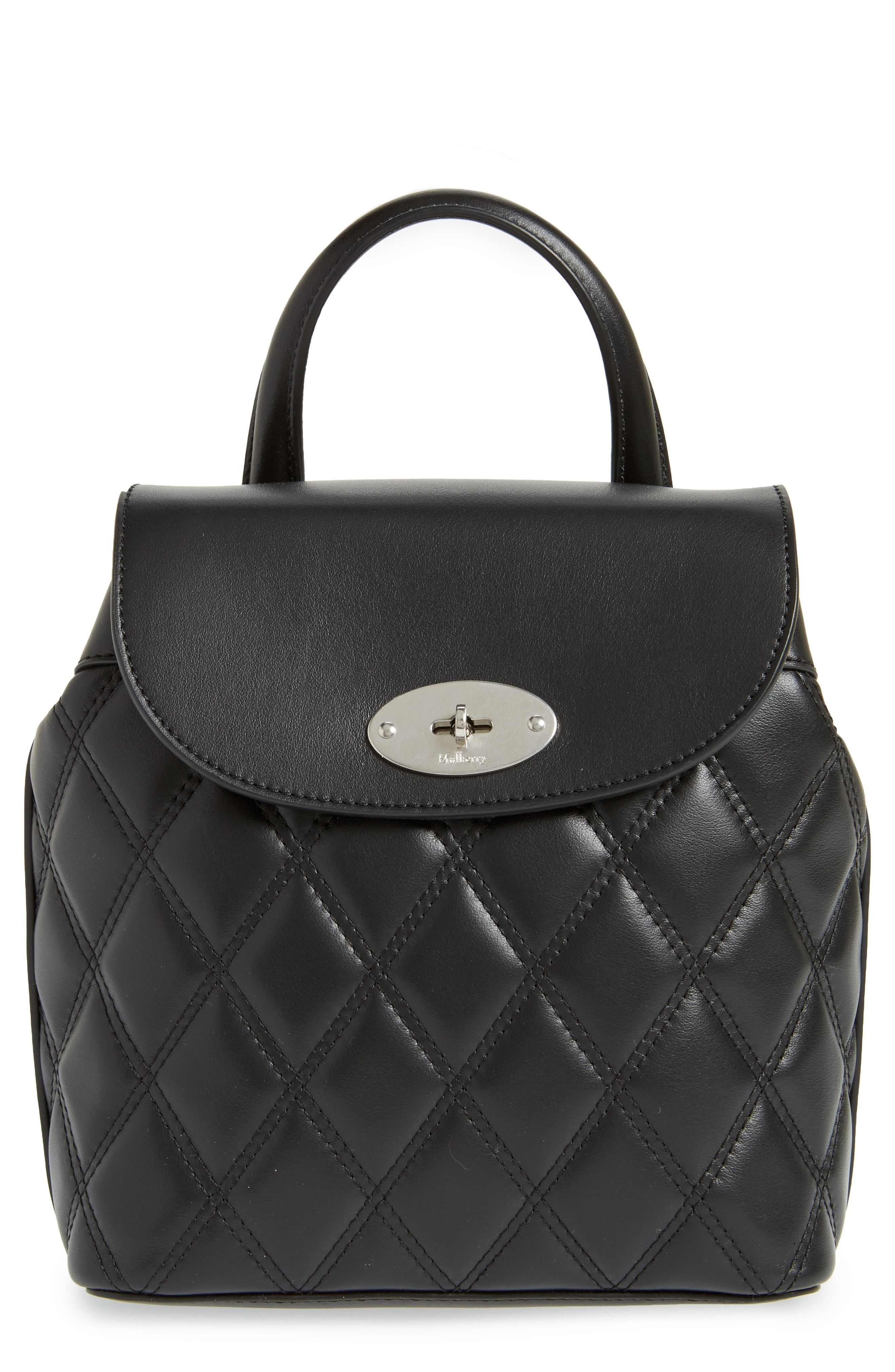 709c3d3dd mulberry mini bayswater black quilted leather convertible backpack ...
