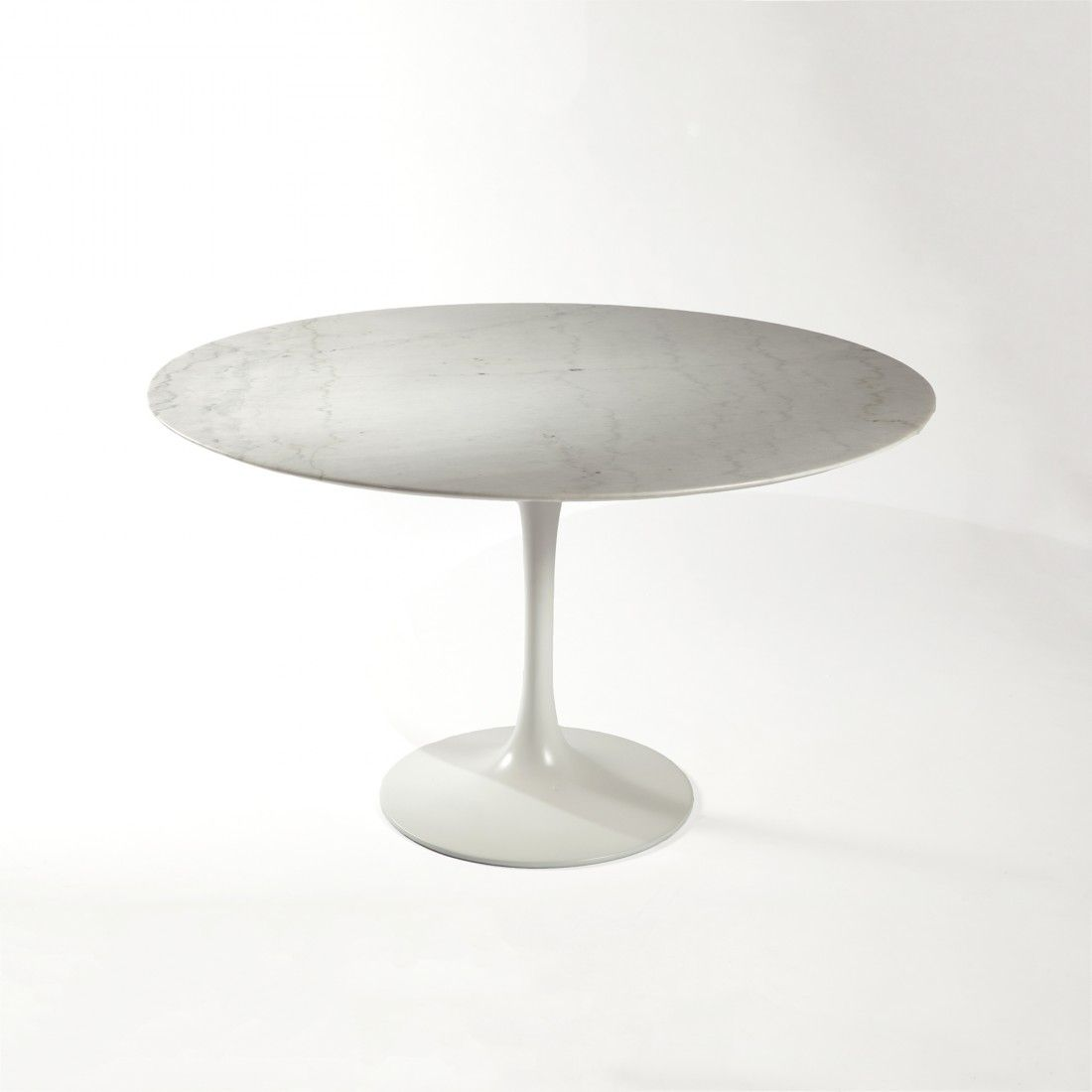 Tulip Dining Table 48 High Grade Marble Mid Century Modern  # Muebles Eero Saarinen