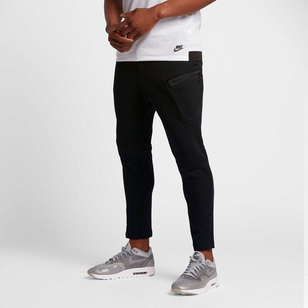 a09e7faab NWT Nike Sportswear Tech Fleece Men's Pants Black/Black 805218-010 Size L  Large #Nike #Pants