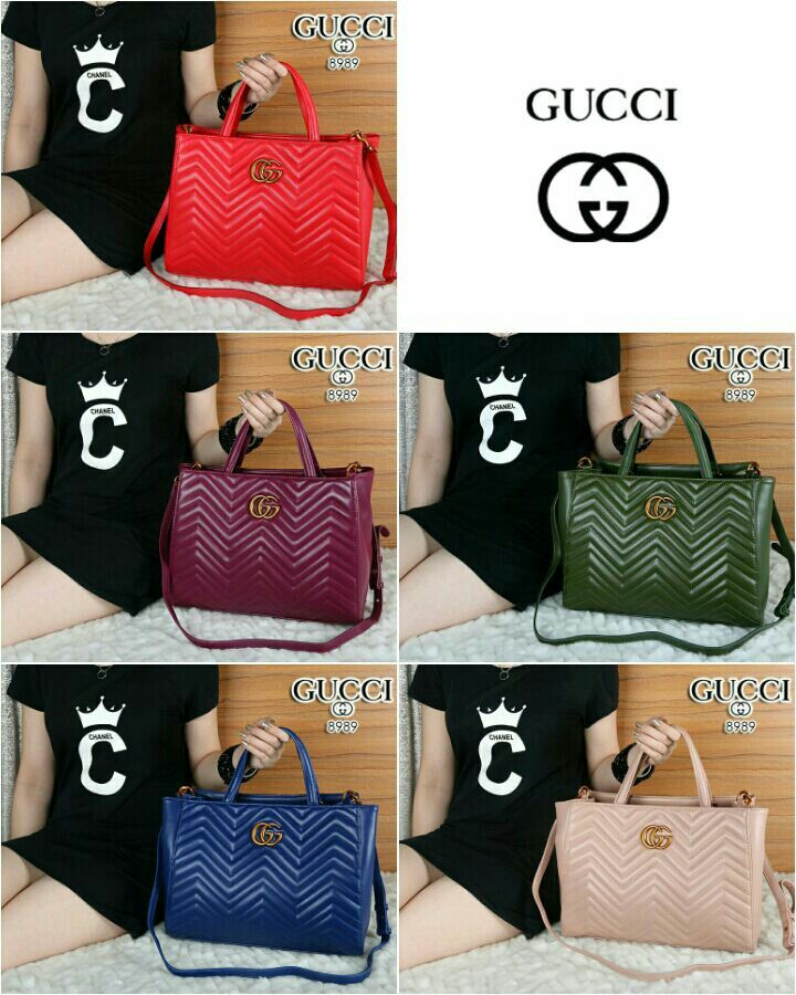 4535d2363ed GUCCI GG Marmont matelasse Top - Handle Tote Bags Lambskin Leather like Ori  Classic Hardware (