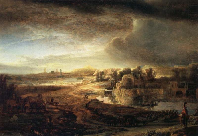Famous Rembrandt Landscape Paintings Landscape With A Coach Rembrandt Paintings Rembrandt Landscape Paintings