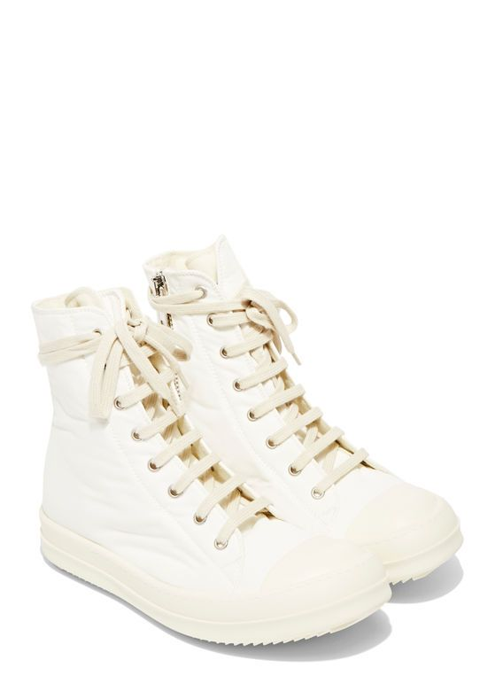 Rick Owens DRKSHDW Neoprene Canvas Sneakers
