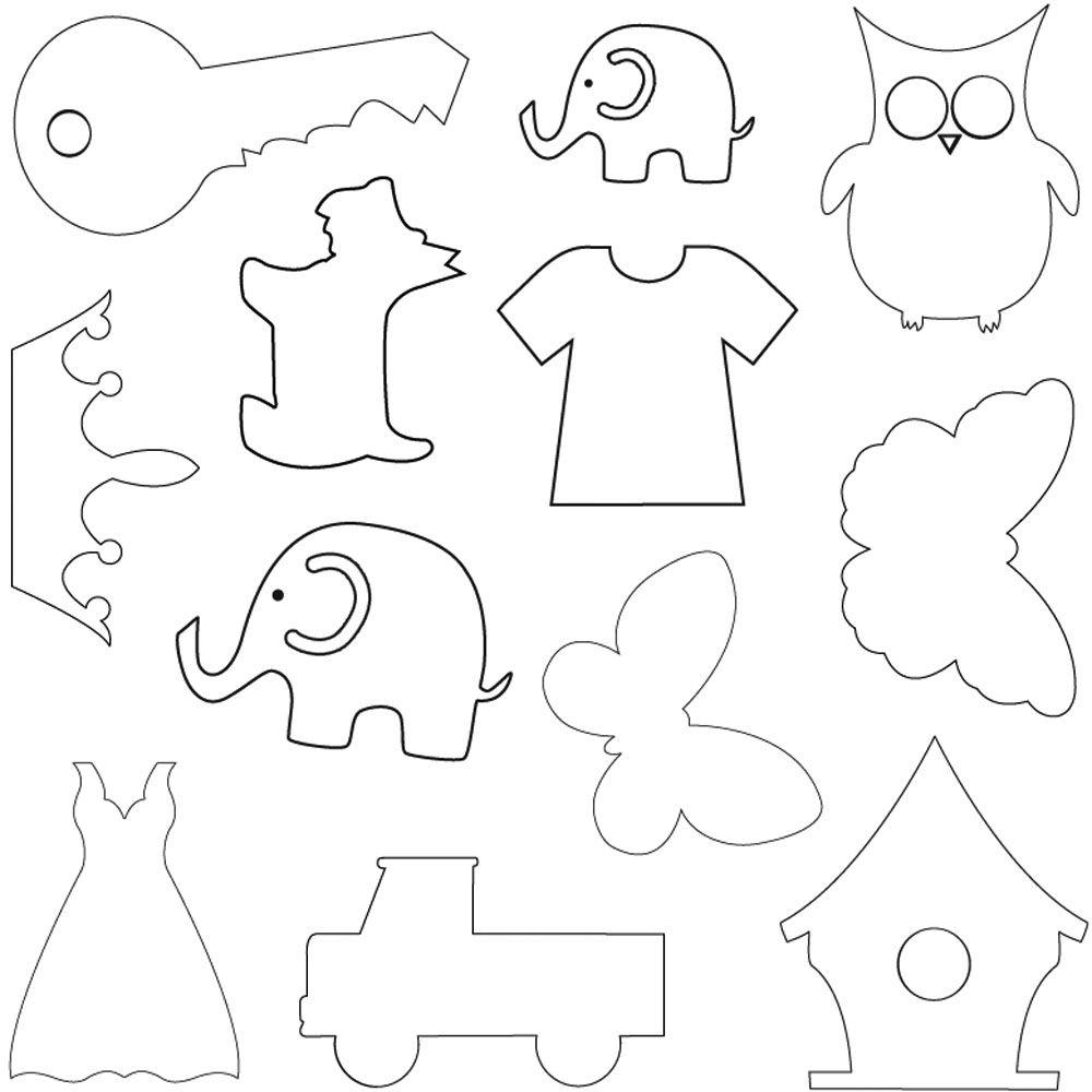 Scottie dog template toppers felt patterns pinterest template