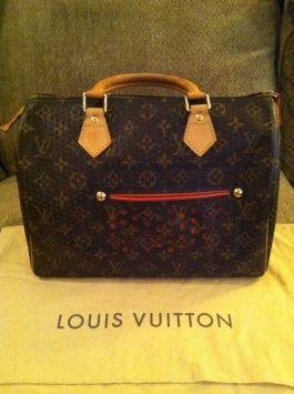 Louis Vuitton Speedy 30 Monogram/orange Tote Bag $1,250