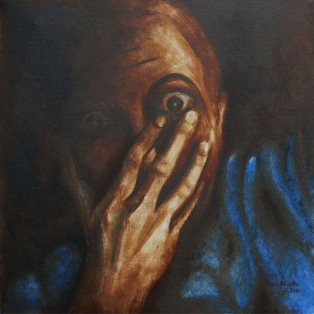 peinture peur - Recherche Google   émotions tableau en 2019   Tableau, Les émotions et Peur