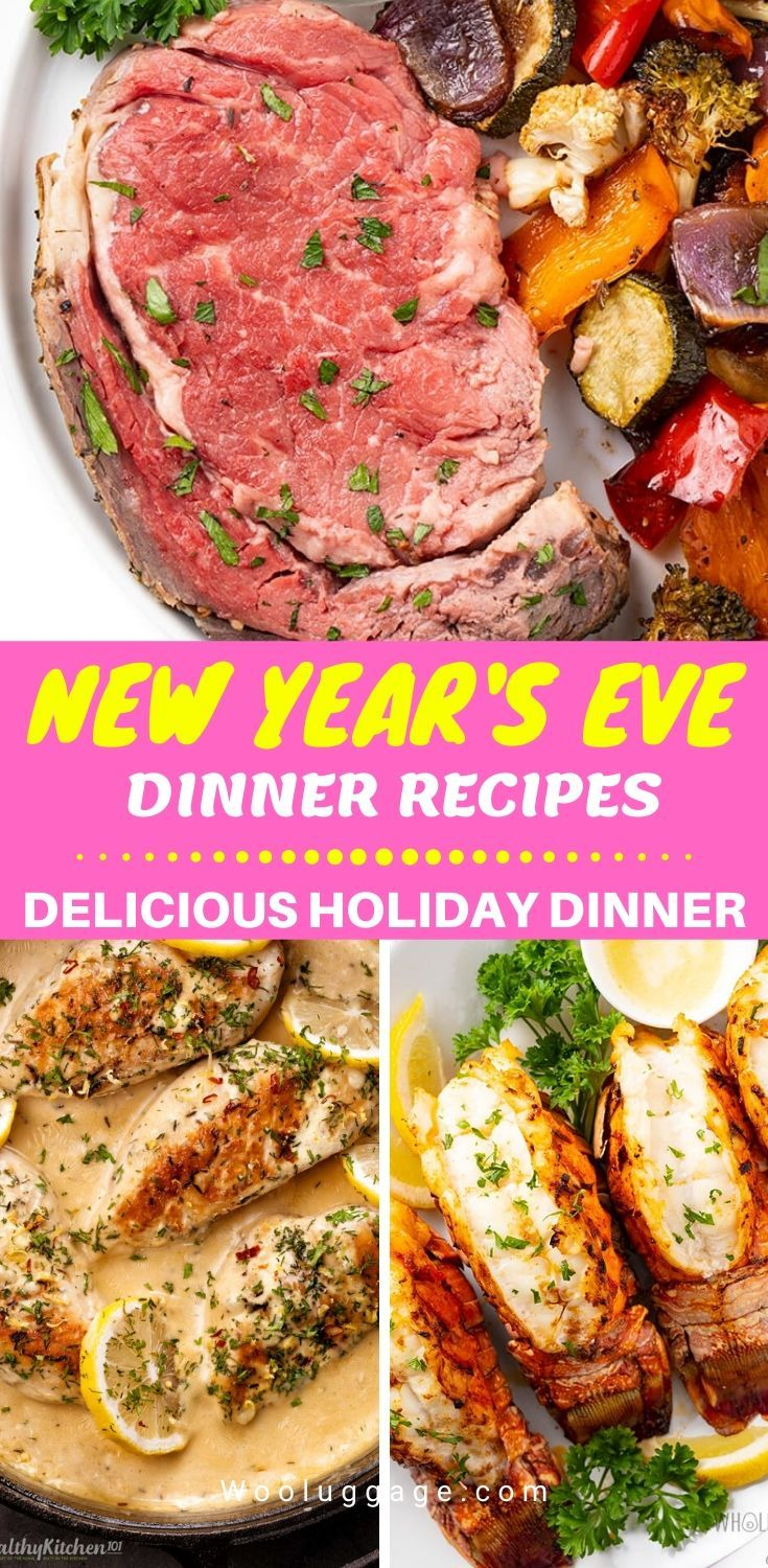 New Year's Eve Dinner Recipes - The Best Holiday Dinner ...