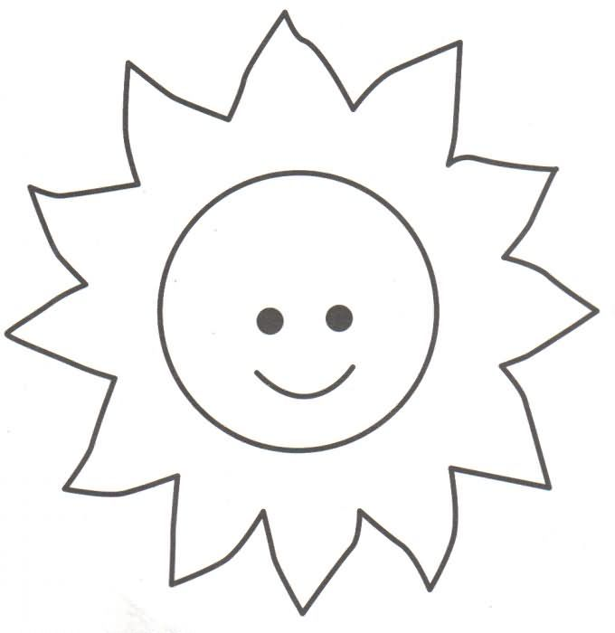 El Sol dando calor | Preescolar | Coloring pages, Coloring pages for ...