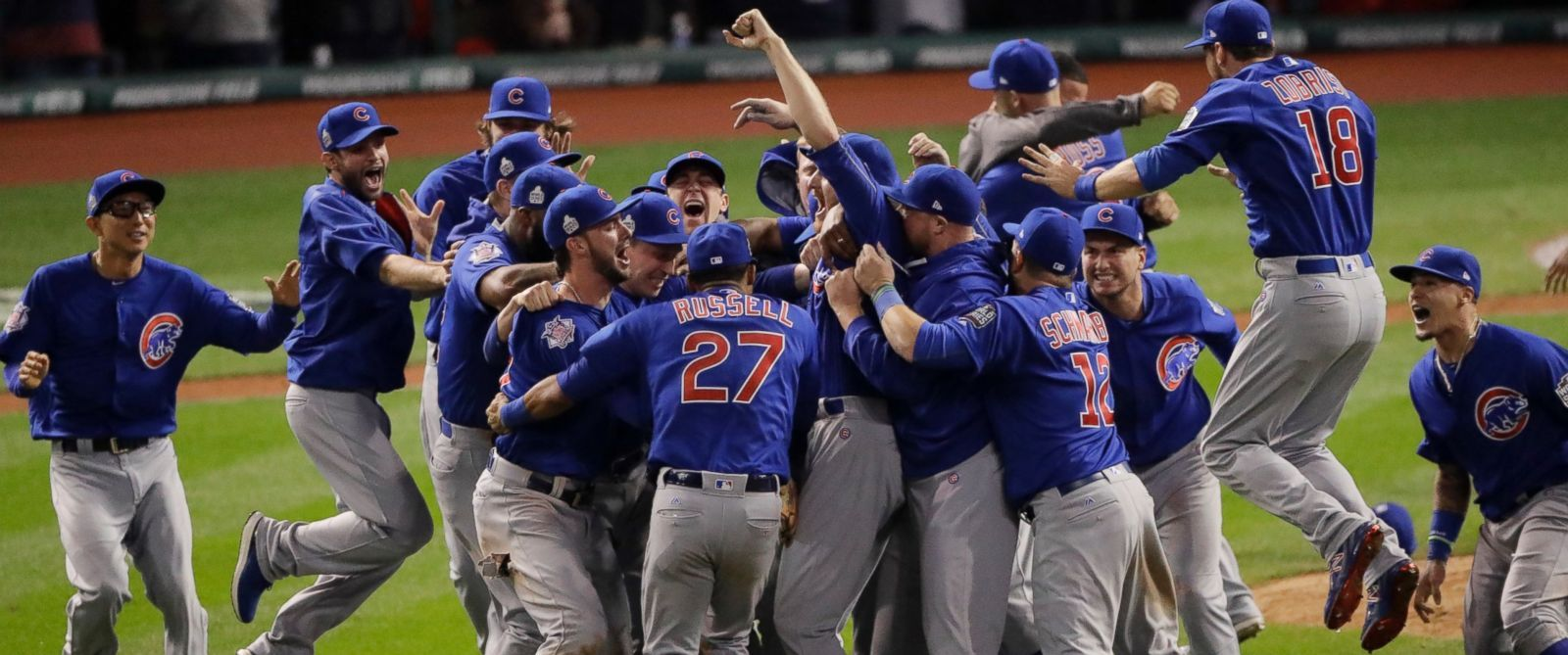I Am So Happy About This The Cubs Won The World Series In Game 7 What A Wild Game It Was Cubs World Series Baseball World Series Chicago Cubs World Series