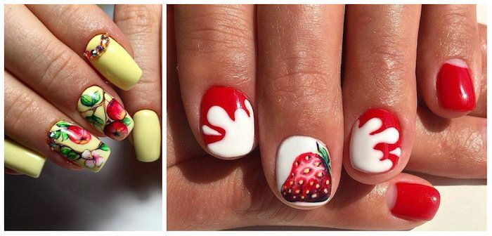 Motif Ongle French, Manucure Couleur, Modele Ongle Nail Art, Décoration Pour  Gel Ongle