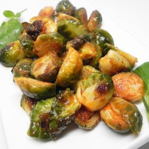 Roasted Buffalo Brussels Sprouts