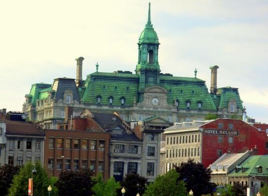 The Hotel Nelson And Old De Ville In Montreal