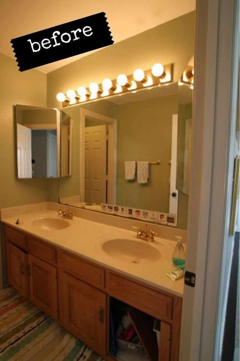 24 Pictures of Before and After Bathrooms with Cost | Diy ...