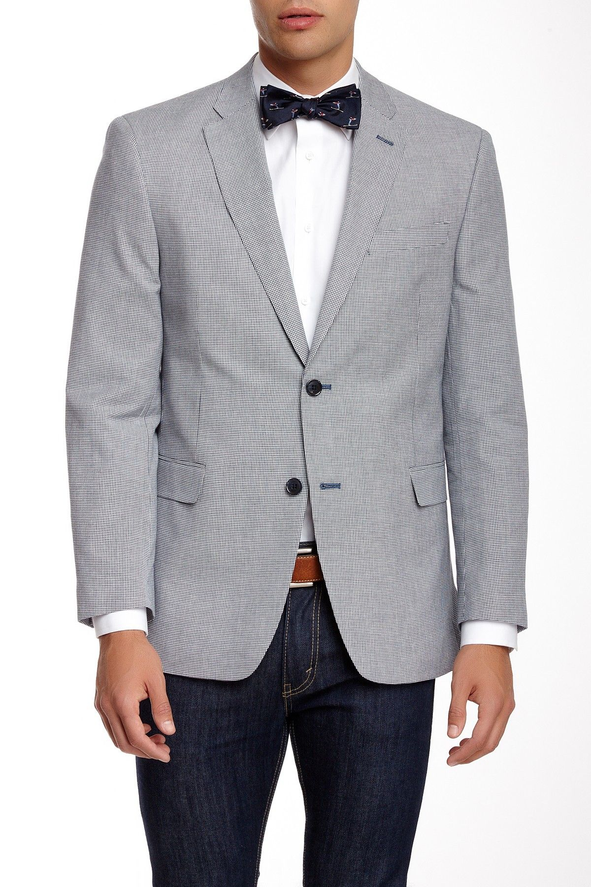 Tommy Hilfiger | Tommy Hilfiger Ethan Houndstooth Two Button Notch Lapel Jacket | Nordstrom Rack