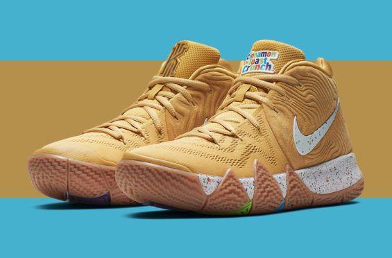 Nike Kyrie 4 Cereal Pack Begins Releasing This Weekend