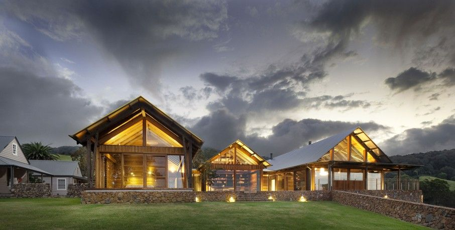 Contemporary Farmhouse Design from Jamberoo Farm House: Fantastic ...