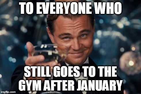 Leonardo Dicaprio Cheers To Everyone Who Still Goes To The Gym After January Image Tagged In Memes Leonardo Dicaprio Cheers Made W Imgf Social Work Humor Nursing Memes Cheers Meme