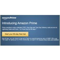 Amazon Prime 60 Days Free Trial Offer Get Free 1 Day And 2 Day Delivery Best Online Offer Free Trial Offer Amazon Prime Amazon