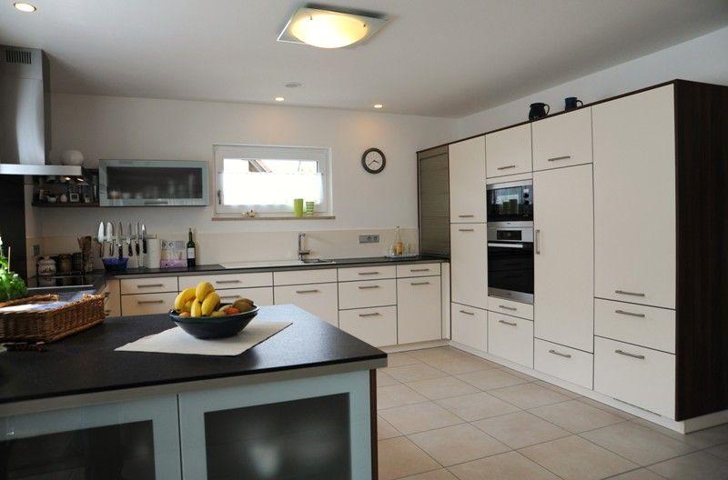 Wohnidee Küche fertighaus wohnidee küche gigantisch l küche creme fertighaus