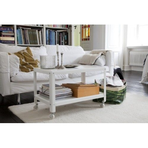 IKEA PS 2012 Coffee table with Castors White appartment design