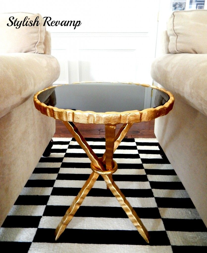 Finding The Goods Marble Top Side Table Home Goods