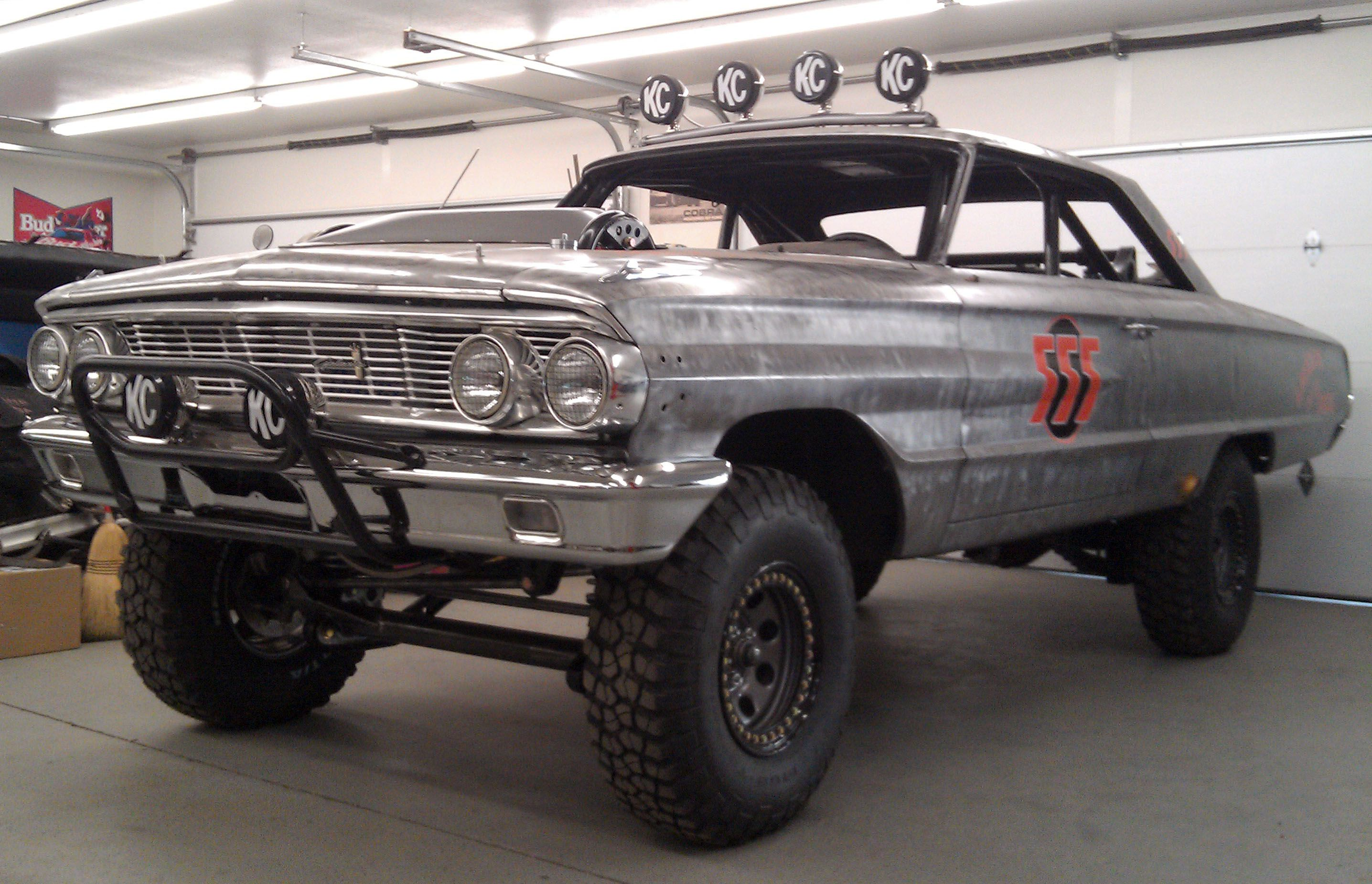 Ford Galaxie For Mexican Baja Offroad Race Racing