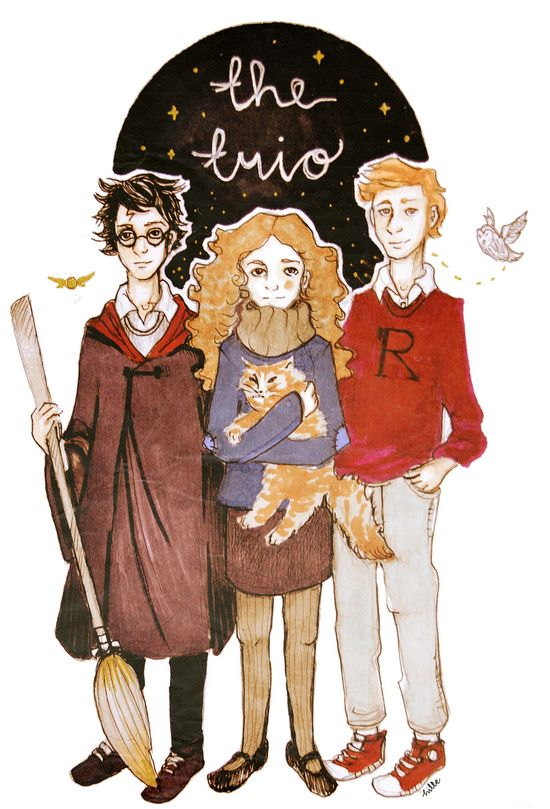 the trio Art Print