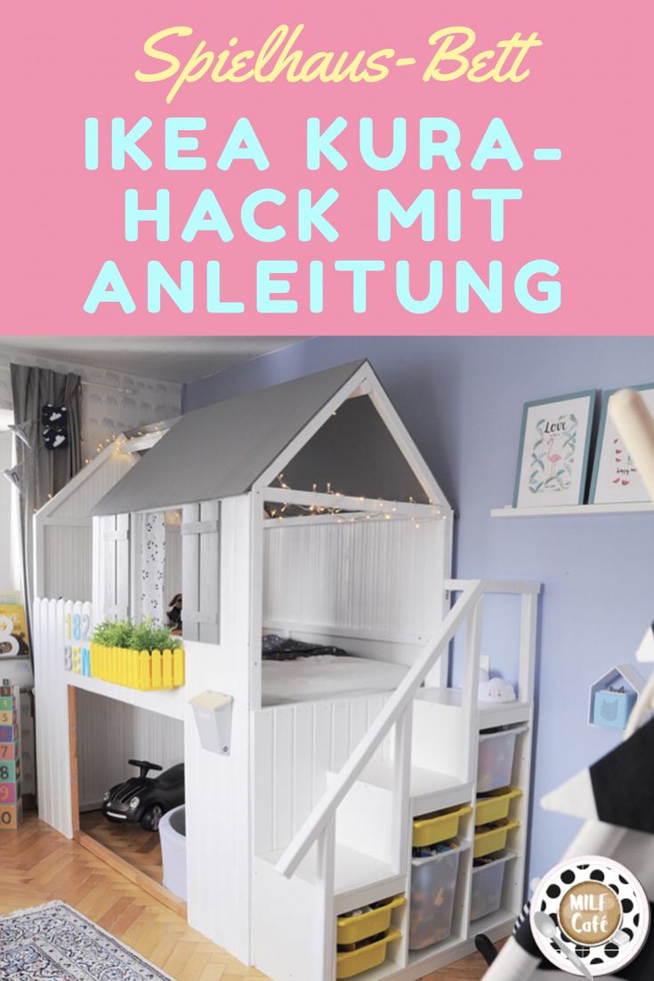 spielhaus diy ikea kura hack f rs kinderzimmer zum nachbauen inklusive anleitung kinderliebe. Black Bedroom Furniture Sets. Home Design Ideas